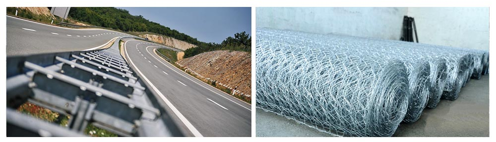 ROAD  EQUIPMENT (flexible road barriers, traffic sign posts and protective fences